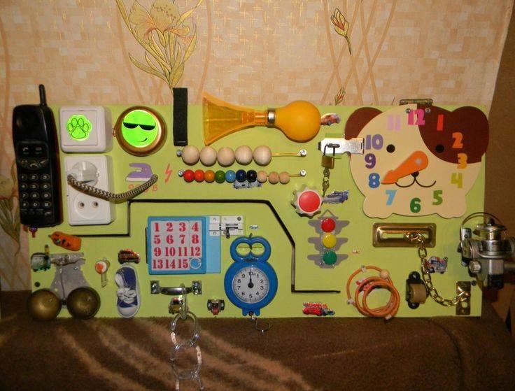 Бизиборд (развивающая доска) своими руками: варианты для мальчика и девочки, как сделать, пошаговая инструкция и прочее + фото и видео