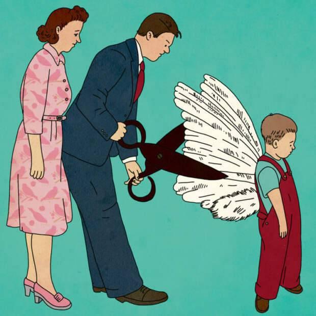 12 ошибок родителей, о которых стоит трубить на каждом шагу