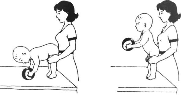 Учим ребенка в 6-7 месяцев самостоятельно сидеть
