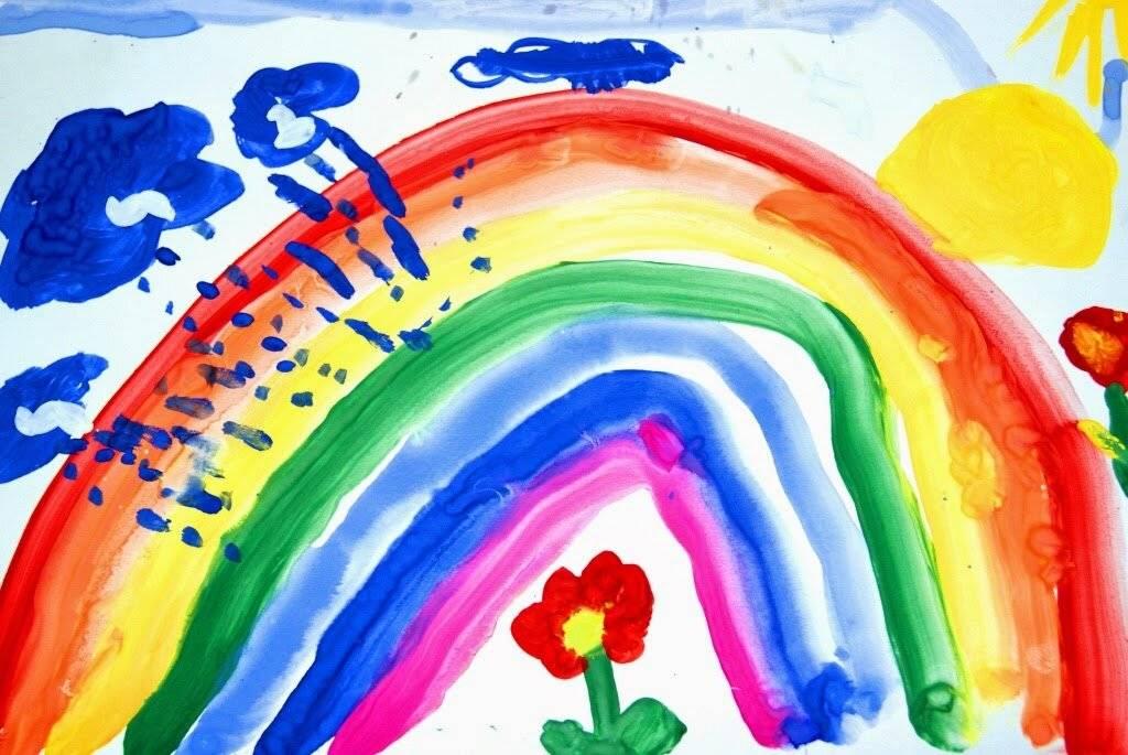 Стоит ли волноваться, если ребенок рисует только темными цветами