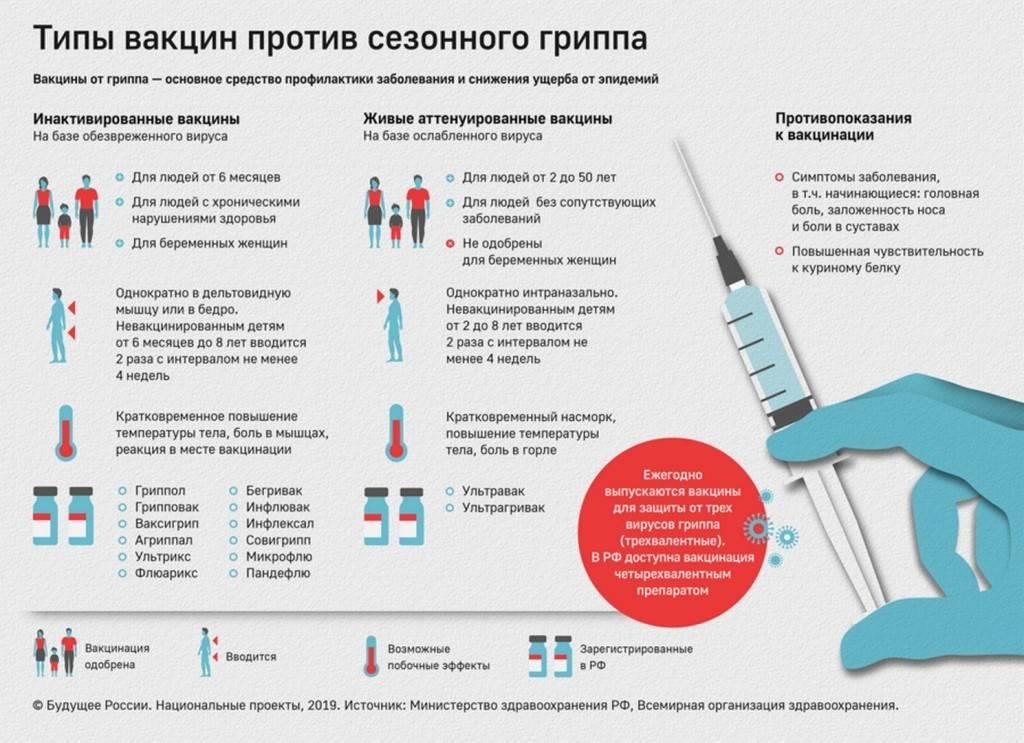 Прививка от гриппа детям: стоит ли прививать ребенка от гриппа?