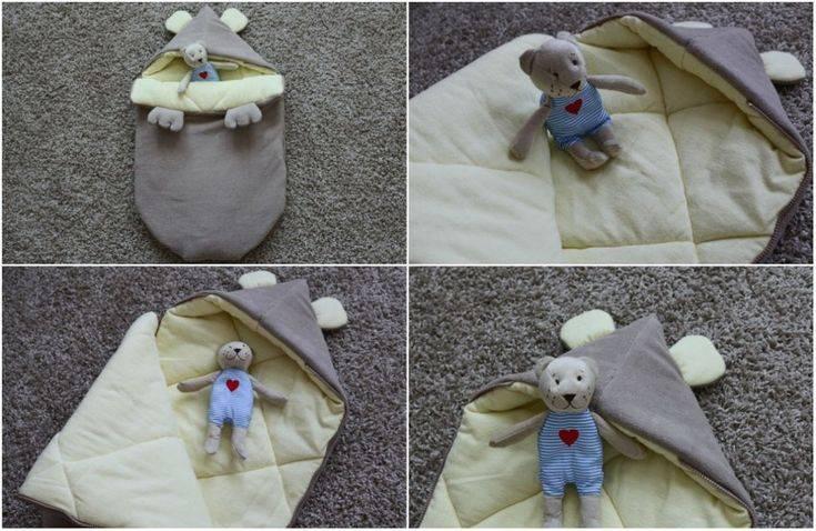 Одеяло-трансформер для новорожденного: мастер-класс с выкройками