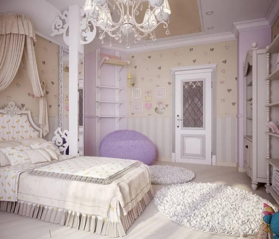 Детская прованс — 85 фото зонирования и индивидуального проектирования детской комнаты