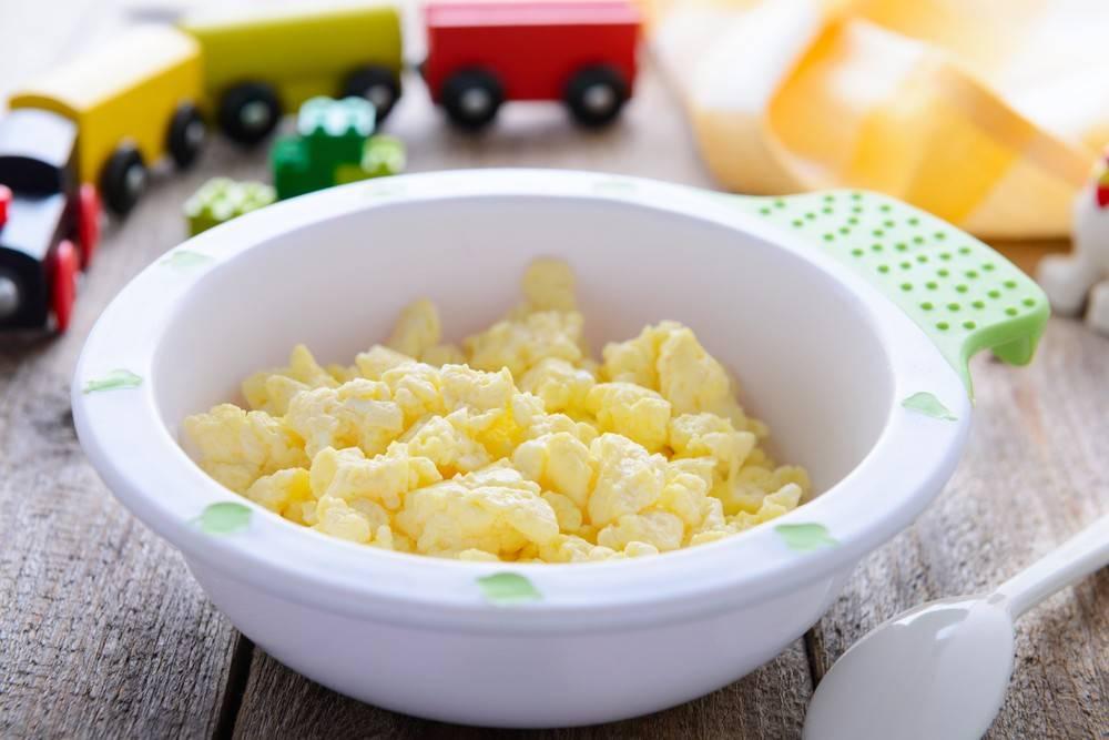 Омлет для ребенка в 1 год: рецепт приготовления