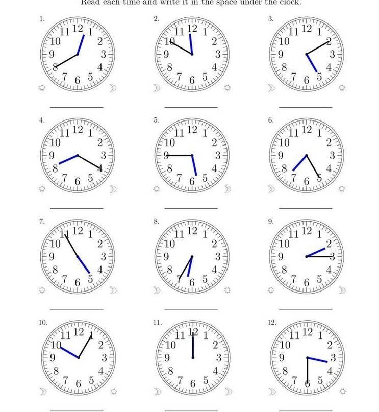 Как научить ребенка определять время по календарю и часам?
