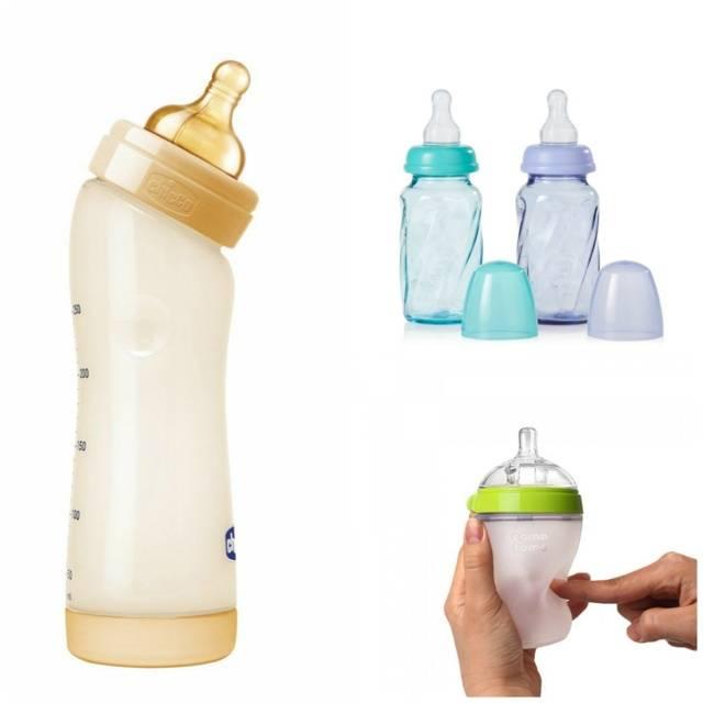 Какие бутылочки лучше: стеклянные или пластиковые?