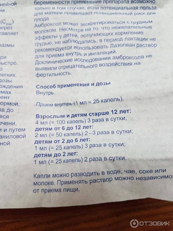 Ингаляции с беродуалом и лазолваном - инструкция, дозировка