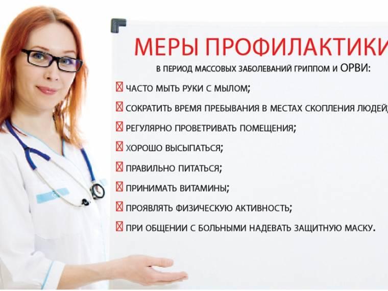 Грипп: симптомы, лечение, профилактика – напоправку – напоправку