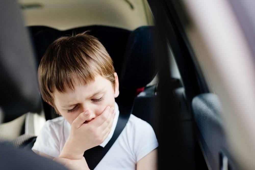 Ребенка укачивает в машине: что делать, если тошнит и рвет в транспорте | 8roddom.ru