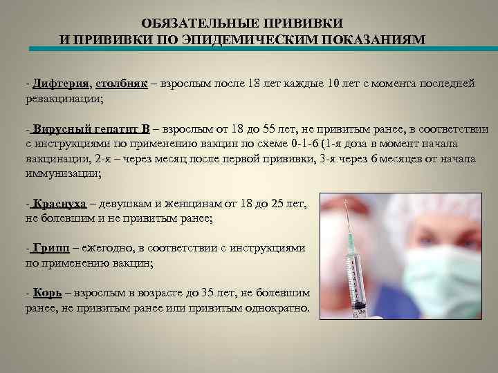 Обязательна ли прививка от гриппа: надо ли вакцинироваться взрослым по закону - причины, диагностика и лечение