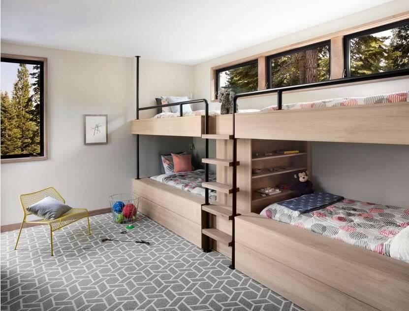 40 идей, как обустроить детскую 9 кв. м