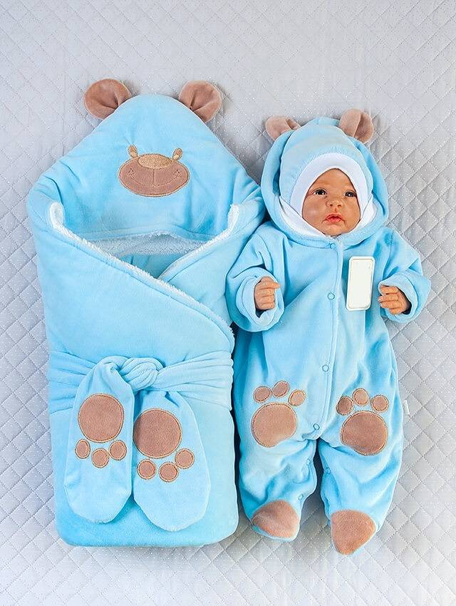 Во что одеть новорожденного на выписку зимой: список по показателям температуры
