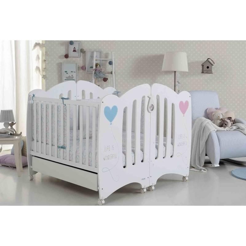 Где купить дешевые кроватки для двойни?