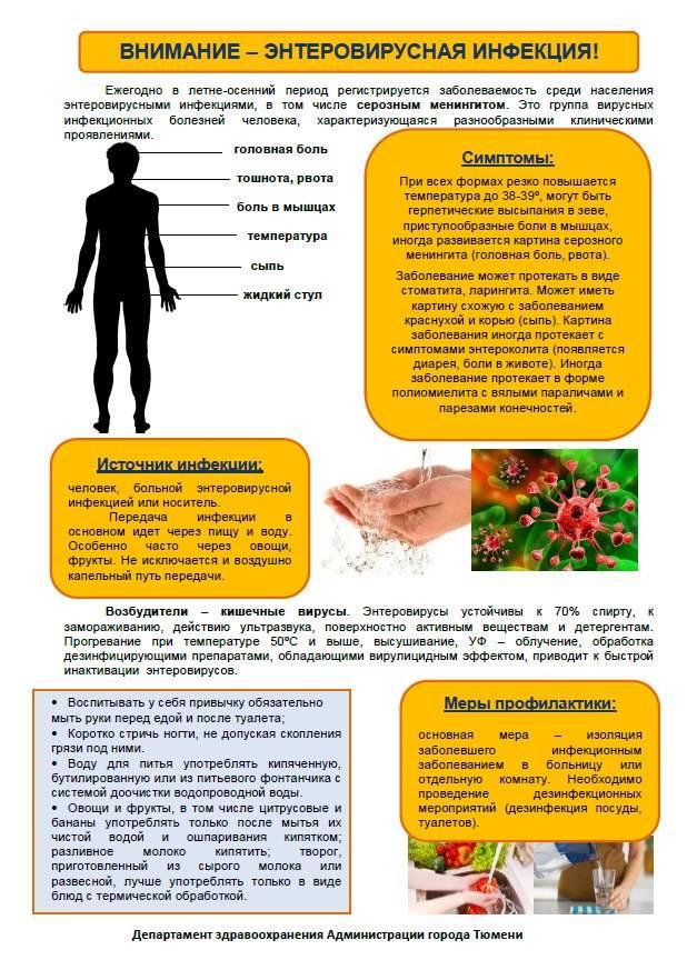 12 общих симптомов энтеровирусной инфекции у детей