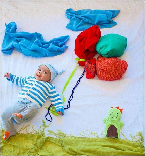 Игры для младенцев до полугода как и во что играть с грудничком