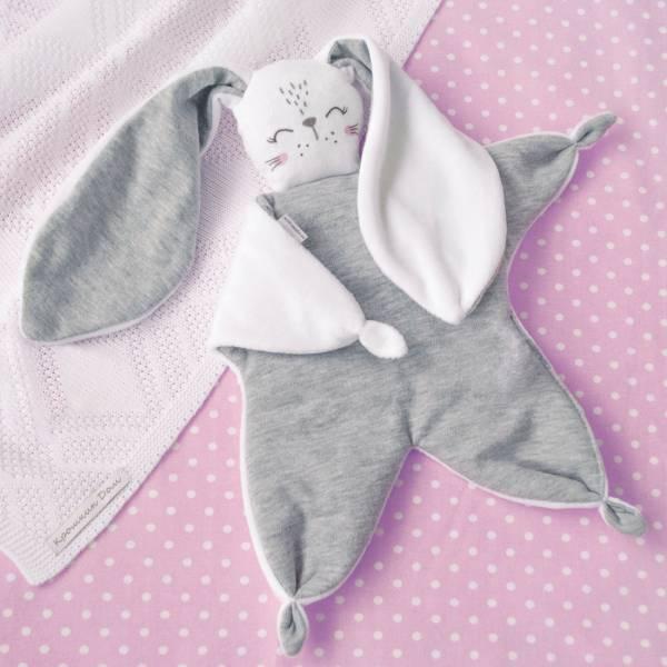 Мастер-классзайка-комфортер / игрушка-сплюшка для новорожденных