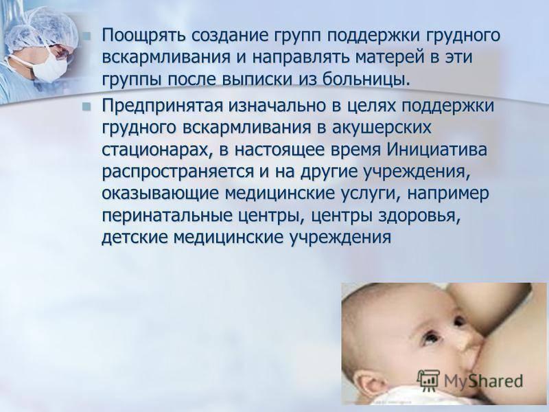 Кормление новорожденного по требованию