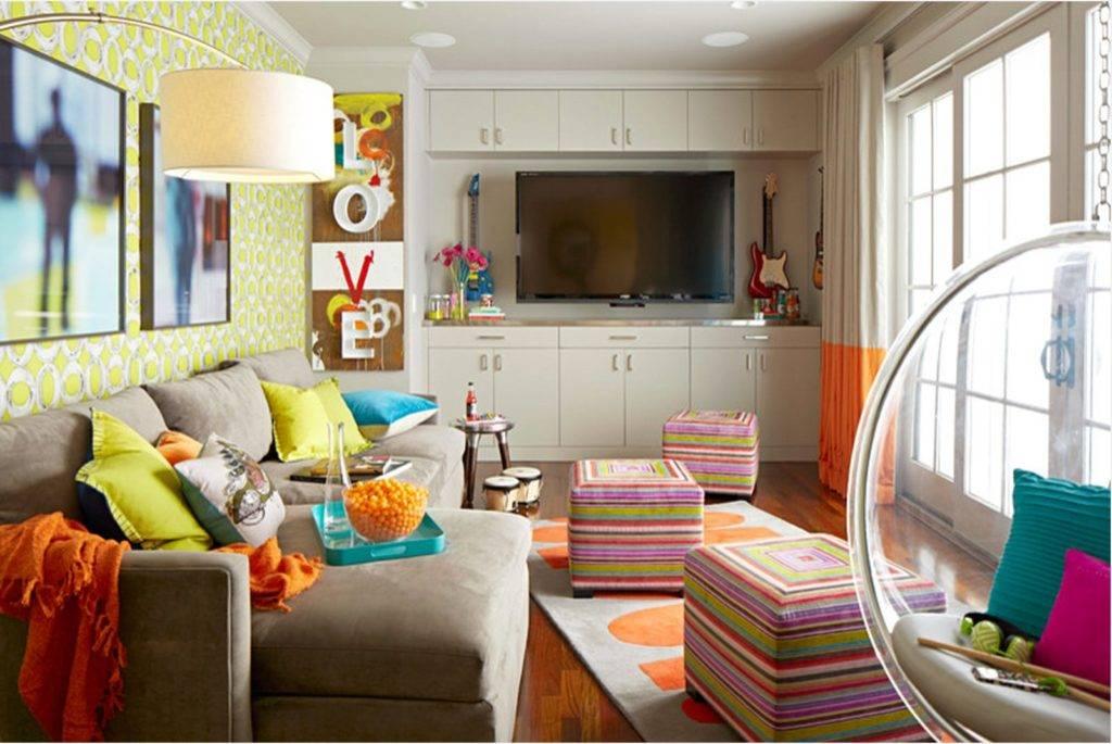 Как обустроить гостиную-детскую: как зонировать, планировка зоны для взрослых, перегородка в комнате