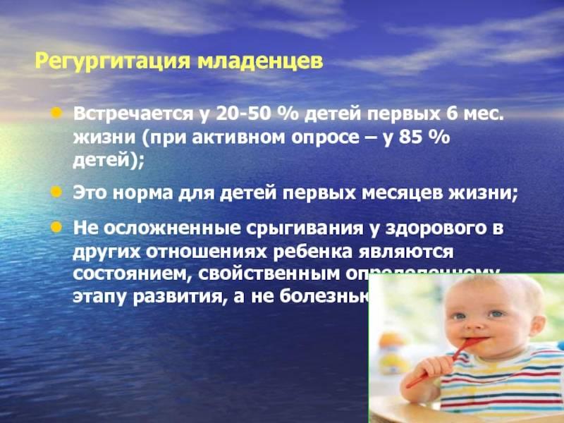 Синдром рвот и срыгиваний у детей раннего возраста » библиотека врача