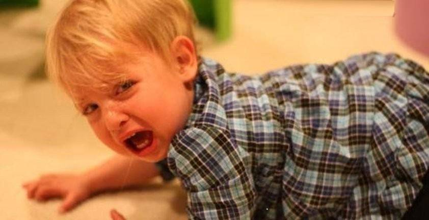 Ребенок психует и плачет в 3, 4, 5 лет