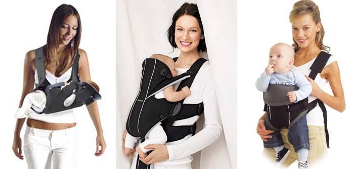 Можно ли новорожденного носить в кенгуру | мама супер!