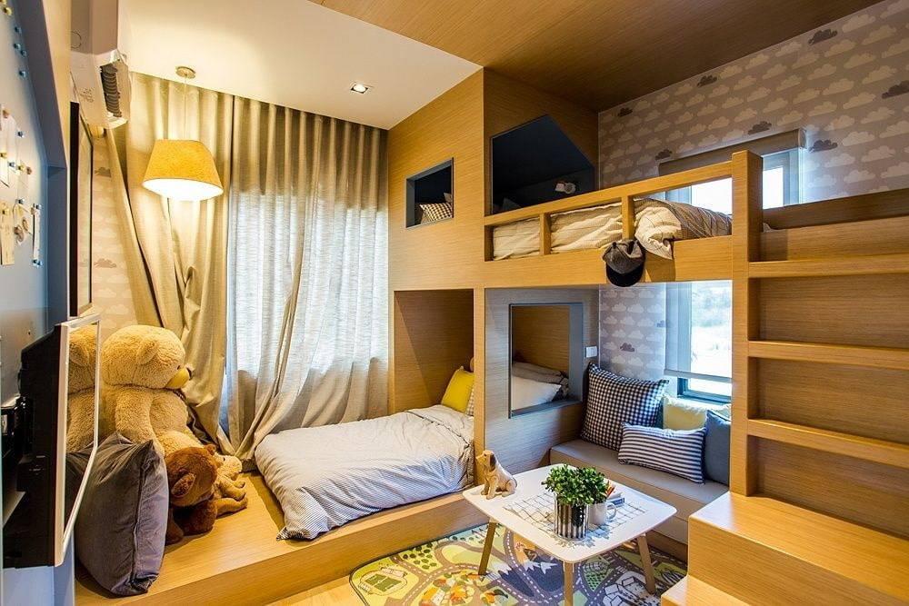 Дизайн комнаты для двух мальчиков-подростков