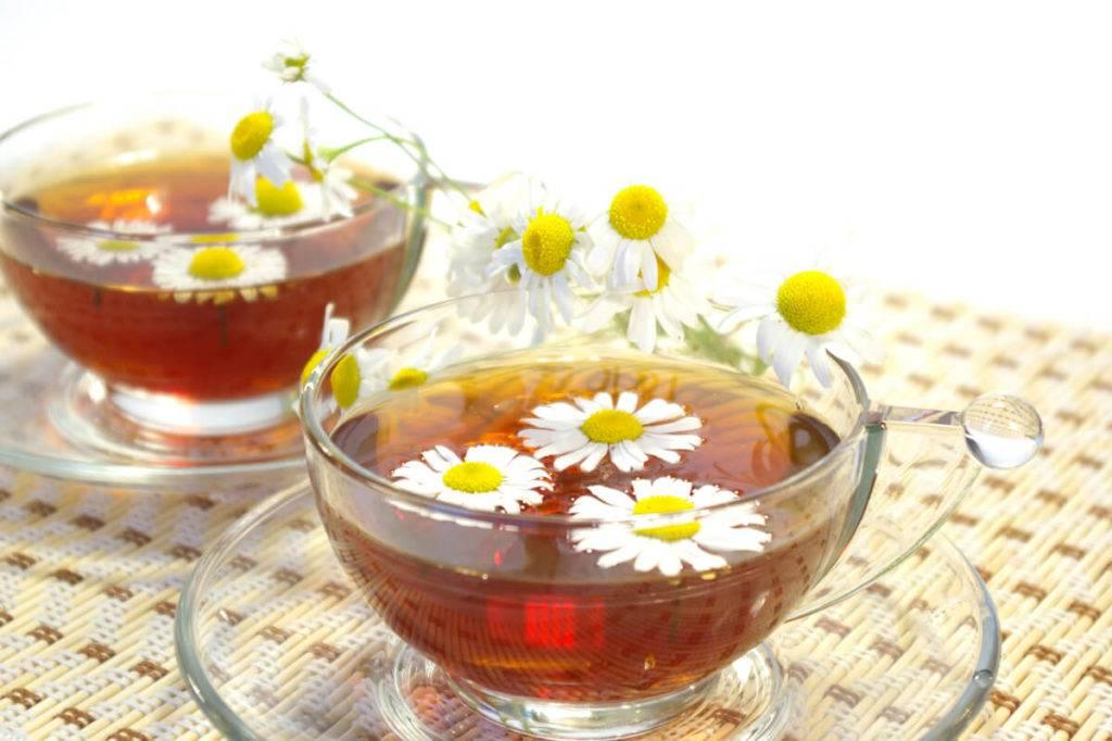 Ромашковый чай для грудничка с 0 месяцев