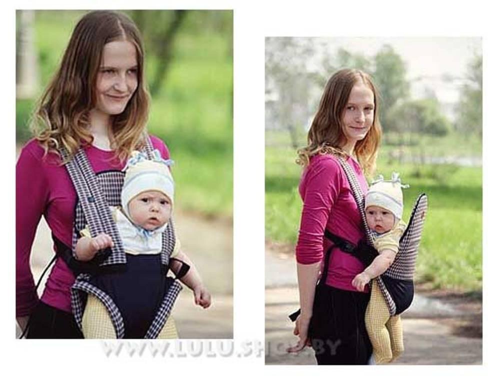 Со скольки месяцев можно носить ребенка в кенгуру?