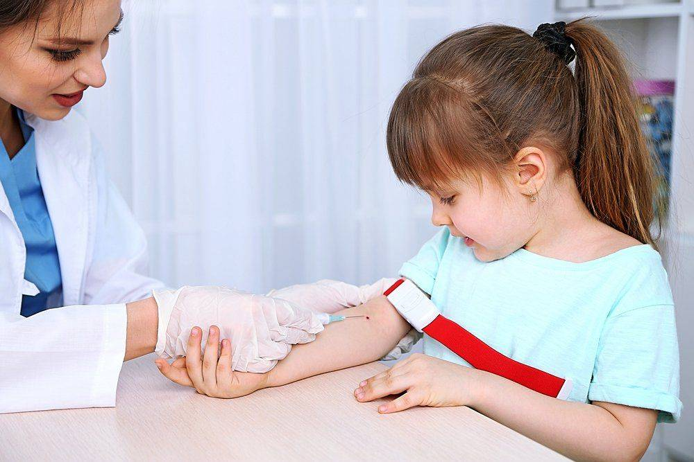 Биохимия крови ребенка
