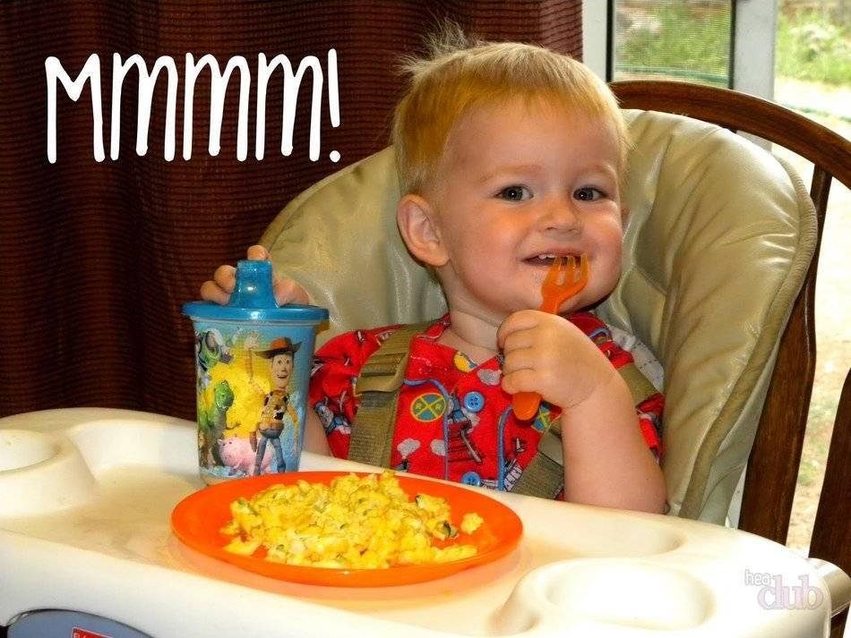 Рецепт полезного омлета для ребенка 1 года