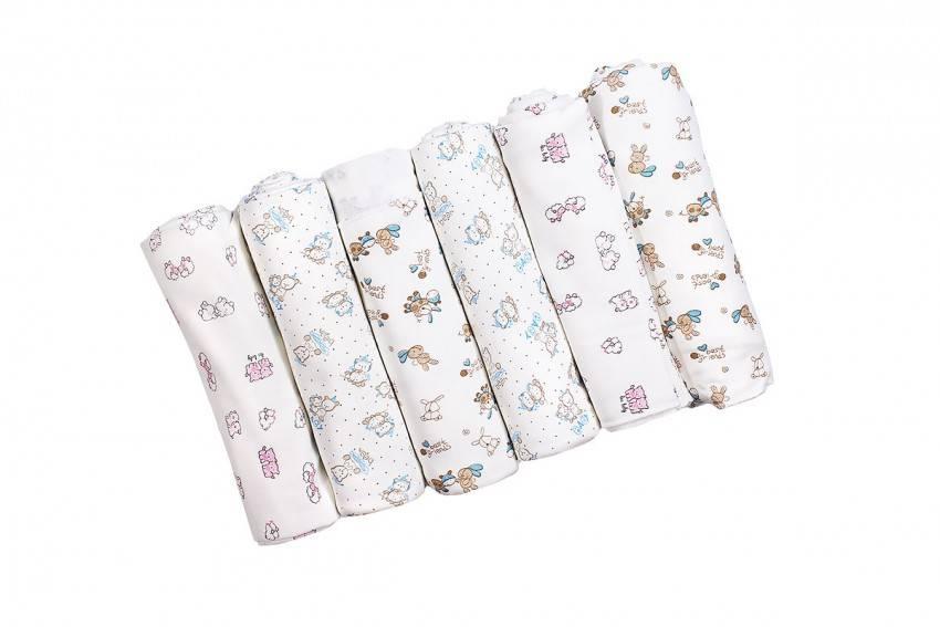 Ситцевые пеленки для новорожденных (фото)