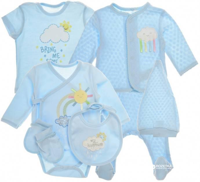 Комплекты для новорожденных на выписку из роддома