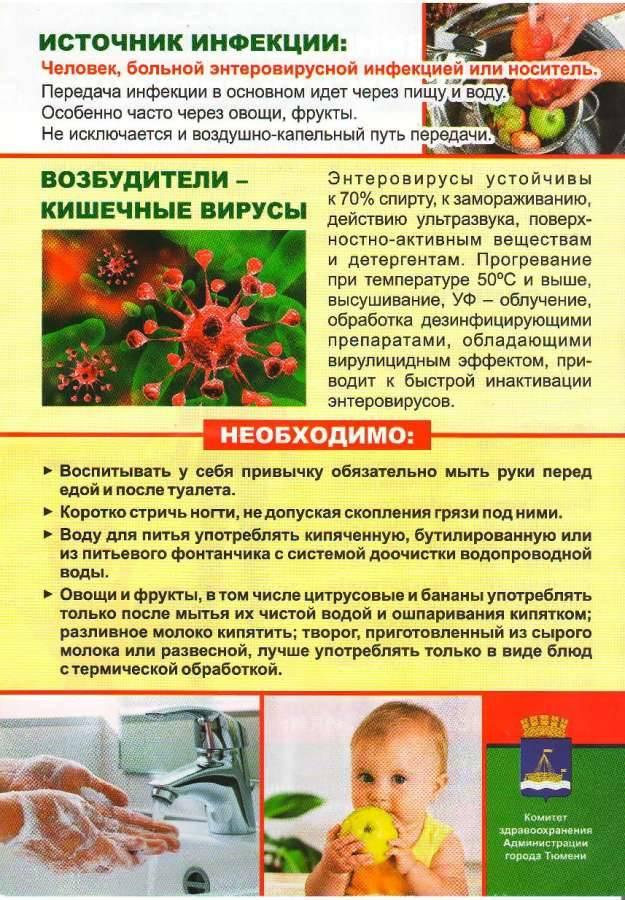 Энтеровирусная инфекция: причины, симптомы, лечение