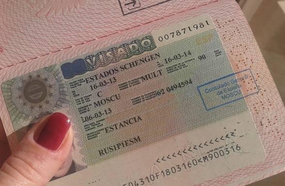 Документы для оформления шенгенской визы