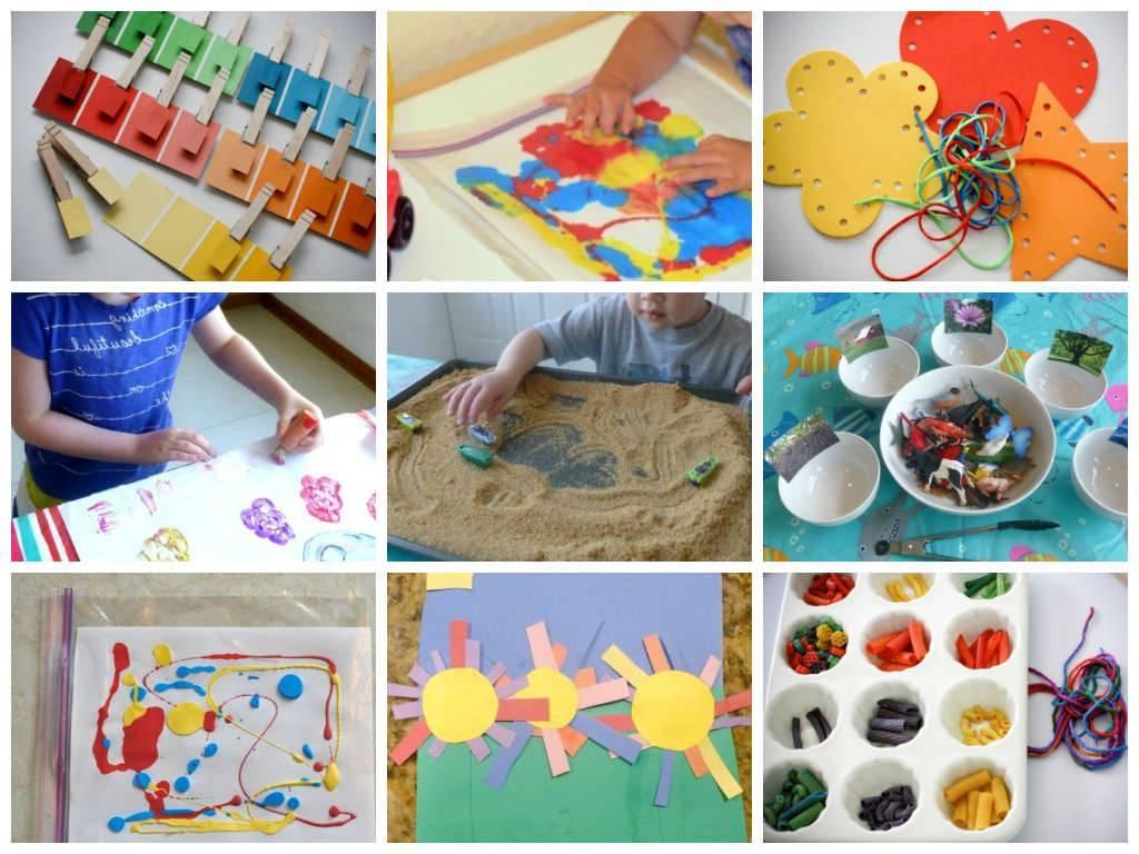Развивающие занятия с ребенком 3 года: обучающие игры для дома с мамой