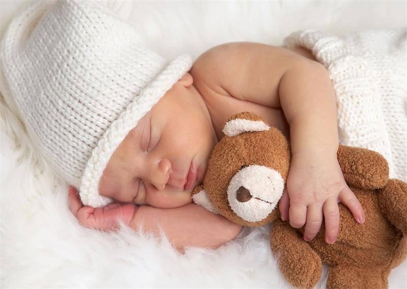 Правильная поза для сна новорожденного