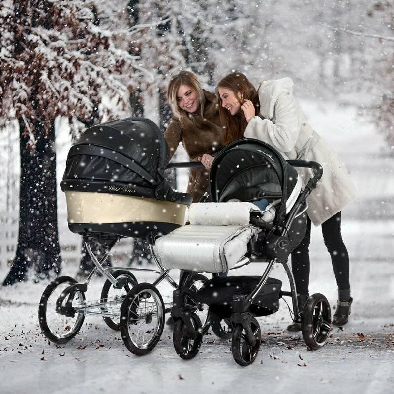 5 основных правил выбора коляски для новорожденного для зимы и лета