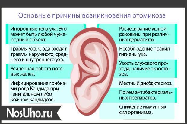 Боремся с запахом из уха у грудничка