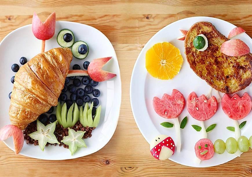 Полезные и вкусные завтраки для годовалого ребенка | беременность