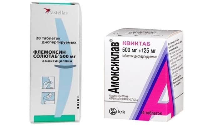 Если аллергия на амоксиклав можно ли флемоксин
