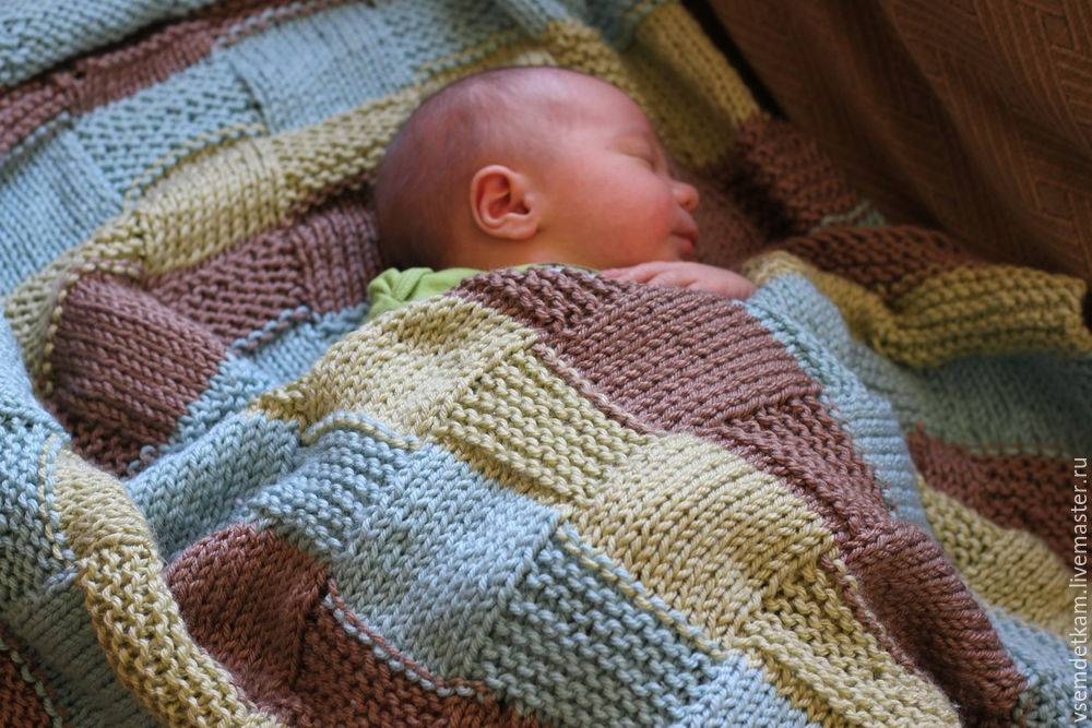 Встретить малыша из роддома с лучшим пледом на выписку