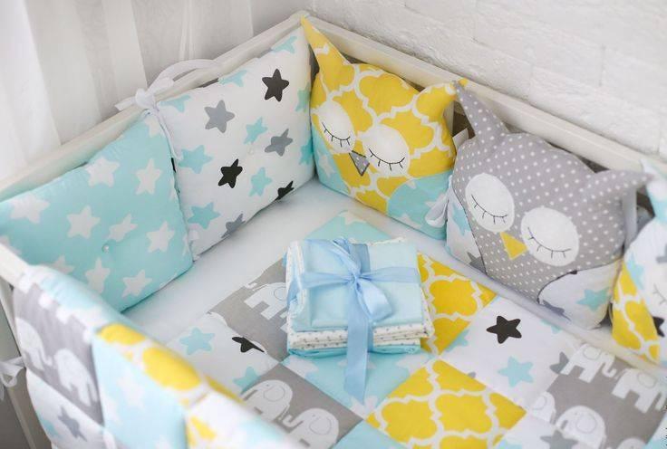 Что нужно в кроватку для новорождённого