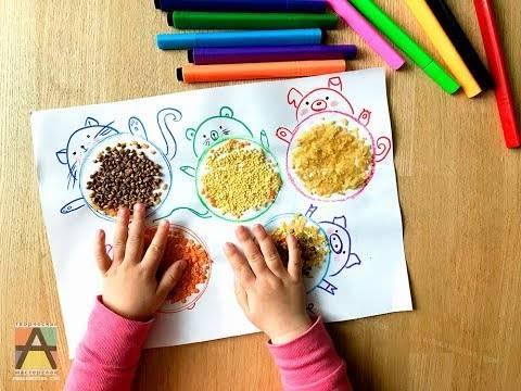 Игры с сыпучими материалами как средство развития мелкой моторики рук детей раннего возраста   коррекционная работа в доу    современный урок