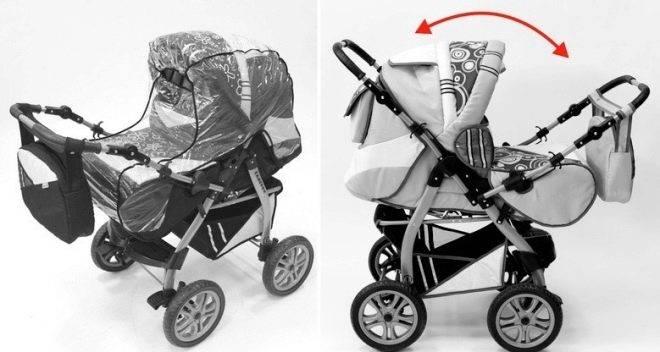 Коляски-трансформеры для новорожденных: рейтинг лучших 2019 и как выбрать - грудничок