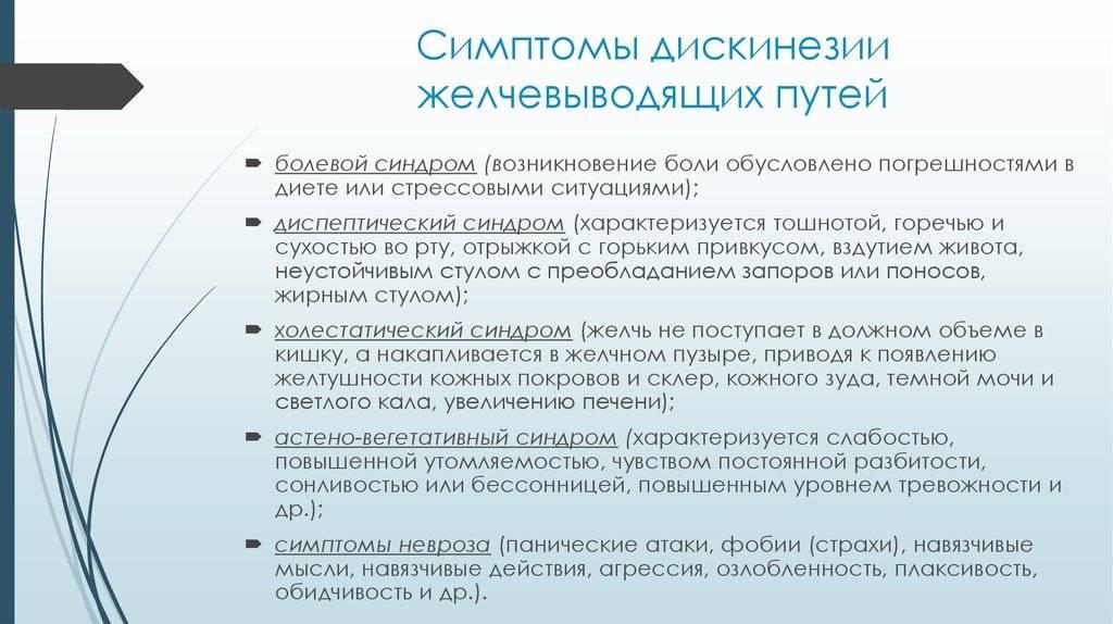 Дискинезия желчевыводящих путей | джвп!