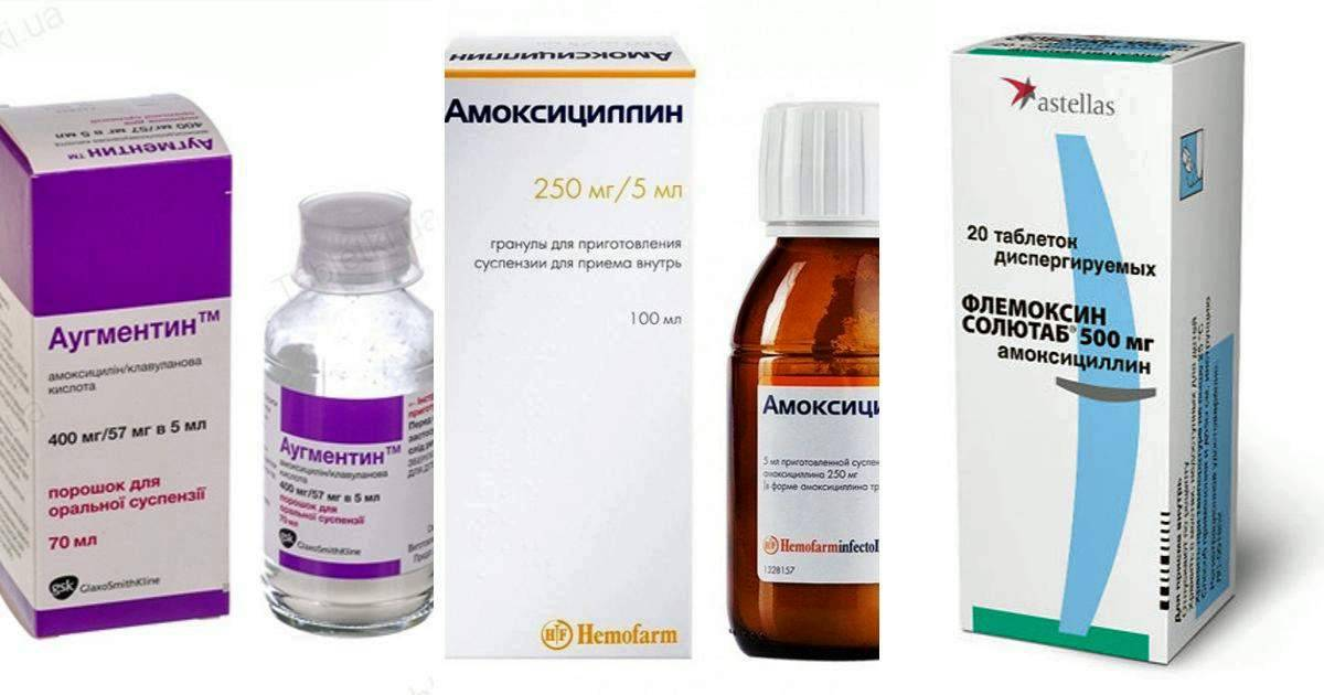 Амоксициллин при грудном вскармливании: Амоксиклав, Аугментин, Флемоксин Солютаб