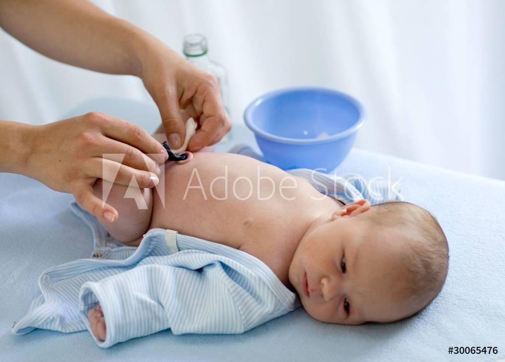 Кожа новорожденного: ухаживаем правильно