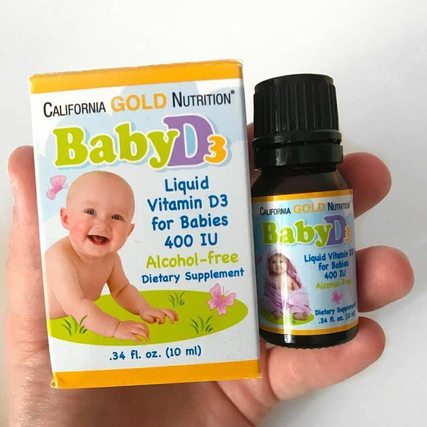 Витамины для грудничков (детей до года): отзывы какие лучше, обзор, список капель