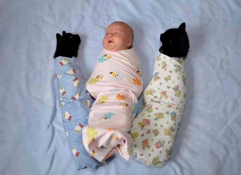 Нужно ли пеленать новорожденного? :: дети ::  «живи!