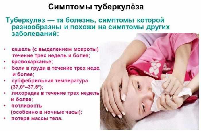 Туберкулез у детей. информация для родителей